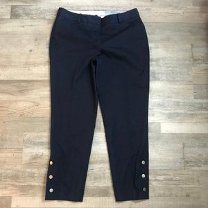 Talbots Hampshire Ankle Navy Pants